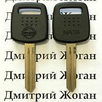 Ключ под чип для NISSAN (Ниссан) корпус, лезвие NSN14