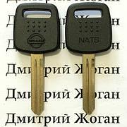 Ключ для Nissan (Ниссан) с чипом 4D60