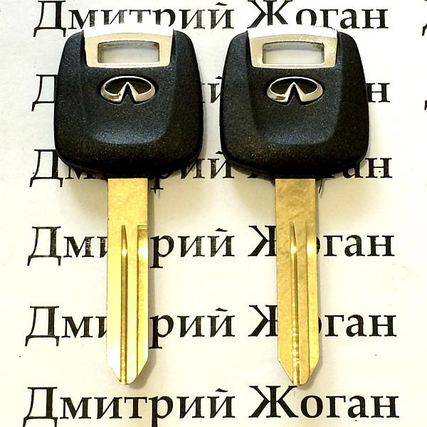 Автоключ Infiniti (Инфинити) с чипом 4D60