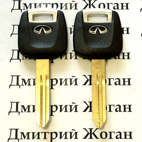 Автоключ Infiniti (Инфинити) с чипом 4D60 , фото 2