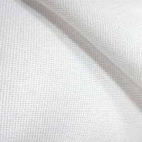 Канва (мелкая) - цвет белый, 6 клеток на 1 см