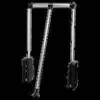 Пантограф 450-600 / черный+хром / AMIX