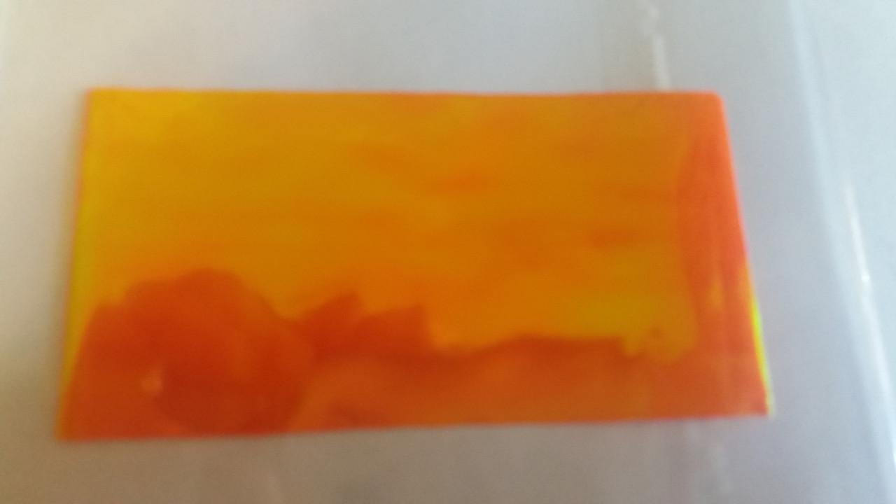 Битое стекло оранжевый