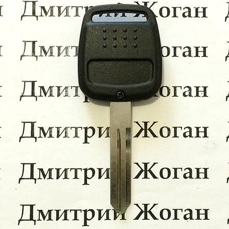 Корпус автоключа для Nissan (Ниссан) 2 - кнопки, лезвие NSN14, фото 2