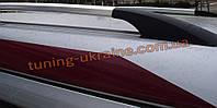 Рейлинги на крышу алюминиевые концевики ALM  для Renault Logan 2004-2012