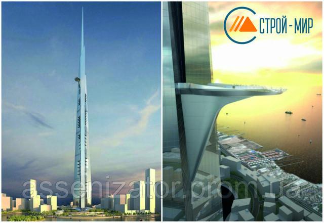 Скоро будет достроено самое высокое здание в мире.