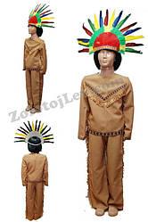 Индейский костюм для мальчика рост 104
