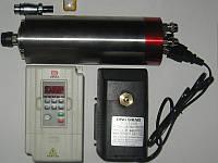 Шпиндель 1,5 кв 7А+инвертор для Чпу 7А, ER-16