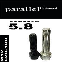 Болт М12 * L20-100 цинк белый