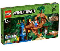 LEGO Minecraft (21125) Домик на дереве в джунглях