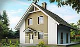 Загородный дом из кирпича, дача из кирпича, строительство дачи, коттедж из кирпича, фото 2