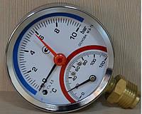 Термоманометр МТ-80-ТМ радиальный штуцер