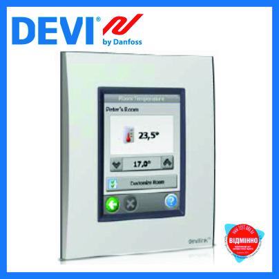 DEVIlink™ управления отоплением с сенсорным экраном