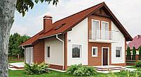 Дом из кирпича, кирпичный дом, цена за дом, строительство домов, строим недорого и качественно, фото 1