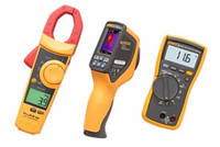 Комбинированный комплект для обслуживания систем отопления, вентиляции и кондиционирования с Fluke VT04