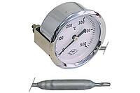 Термометр +500°C (длина капилляра 700 мм) для печей, мангалов, тандыров