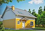 Дом за городом, кирпичный дом, мансардный, полимерпесчаная тротуарная плитка, полимерпесчаная черепица, фото 2