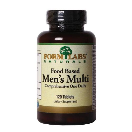 Витамины и минералы для мужчин Food Based Men's Multi 120 tab