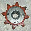 Звездочка Z-8 t=38 натяжная Н.206.12.000А