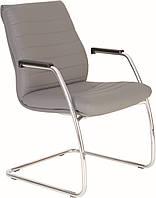 Кресло Iris steel CF LB chrome,экокожа ECO 70 (Новый Стиль ТМ)