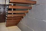 Цельностеклянные ограждения на лестницы, фото 2