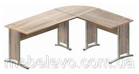 Гербор Офис лайн стол письменный BIU /220/170  775х1700х2200мм дуб сонома