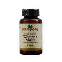 Витамины и минералы для женщин Food Based Women's Multi 60 tab Form Labs USA