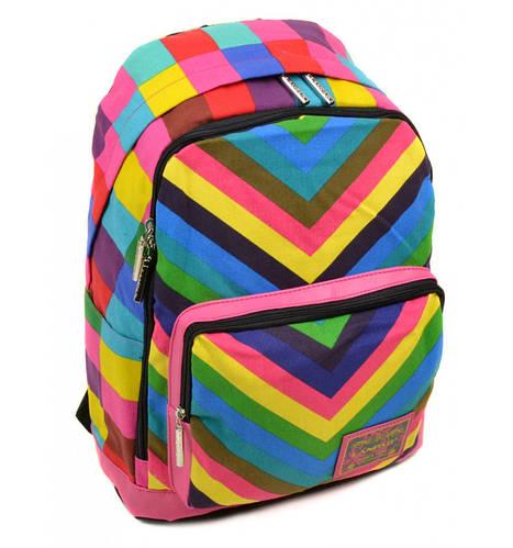 Городской молодежный рюкзак 24 л. Lanpad B1500-mhs разноцветный