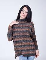 Вязанный женский свитер