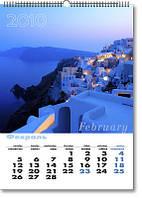 Настенные календари на заказ, печать настенных календарей