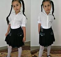 Детская школьная юбка 195, фото 1