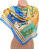 Симпатичный женский шифоновый шарф Подиум 10995-9 (разноцветный)