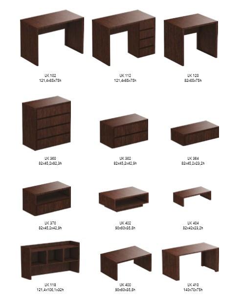 Коллекция корпусной мебели Берлин (ассортимент)