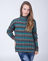 Вязанный женский свитер на зиму