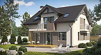 Дом под ключ, дом из газобетона, газобетон дом цена, стоимость услуг строительства