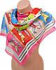 Нежный женский шифоновый шарф размером 50*160 см Подиум 10995-8 (разноцветный)