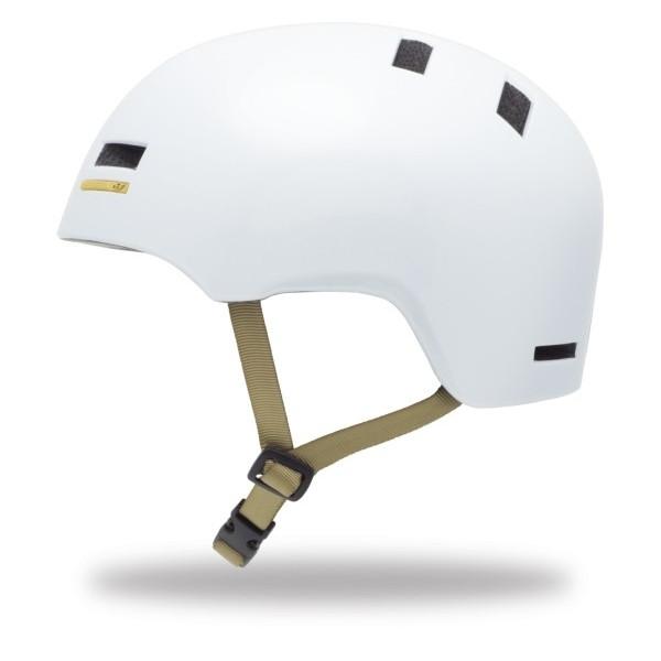 Велошлем Giro Section белый/золотой (GT)