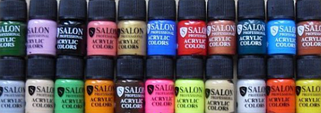 Акриловые краски Salon Professional 3 мл
