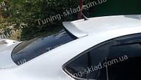 Спойлер на стекло Фольксваген Поло 5 седан (спойлер заднего стекла Volkswagen Polo 5 sedan)