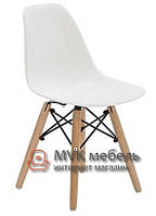 "Стул ""Eames-children DSW"" (Wood) (ПЛ белый)"