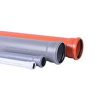 Interplast  труба ПП  40х1.8 (0,500м) 1рез, шт.