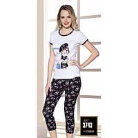 Костюм для дома Lady Lingerie футболка и штаны 3743