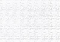 Упаковочная бумага белая с напылением односторонняя - Веточки, 50x70 см, 1 шт
