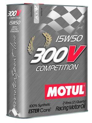 Масло MOTUL 300V Competition 15W-50 2л (825702)