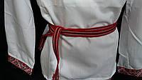 Пояс из ткани под вышиванку, 1,5 метра, 40/30 (цена за 1 шт. + 10 гр.)