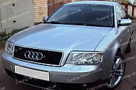 Реснички Ауди А6 С5 (накладки на передние фары Audi A6 C5)