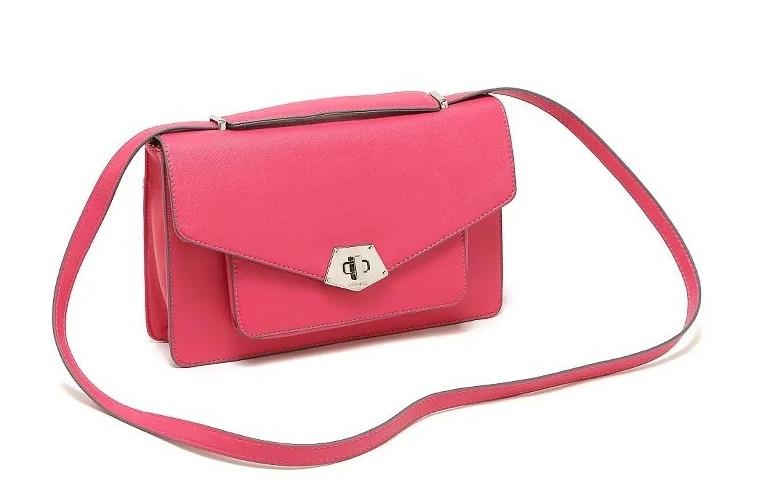204d20459a8b Яркая стильная женская вместительная сумка на плечо розового цвета, цена  599 грн., купить в Львове — Prom.ua (ID#325645994)