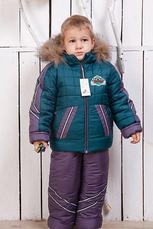 Детский зимний комбинезон Гонщик