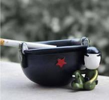 Пепельница Солдат на отдыхе