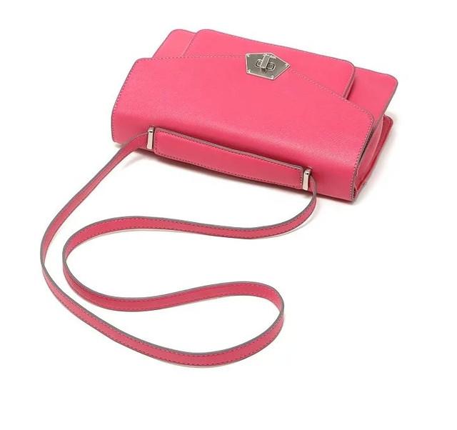 94d56c5fbfc6 Яркая стильная женская вместительная сумка на плечо розового цвета ...